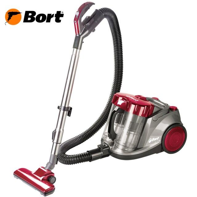 Пылесос Bort BSS-2400N (мощный 2400 Вт, домашний пылесос для профессиональной очистки с двойным мультициклоном V12)