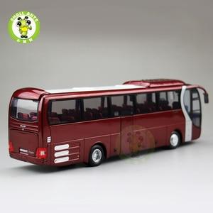 Image 4 - 1/42 Bilancia Bus Modello di UOMO del Leone star Yutong ZK6120R41 Diecast Bus Modello di Auto Giocattoli Regali