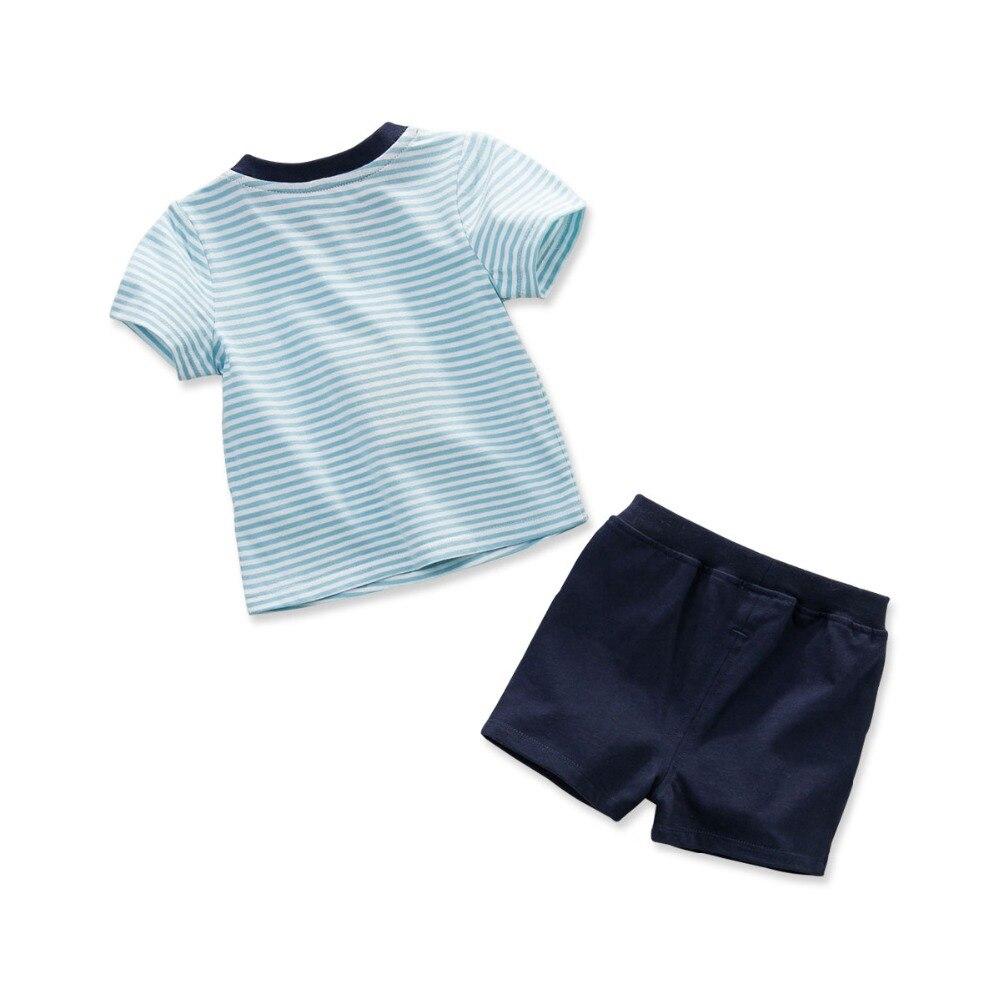 DB3539 dave bella sommer baby jungen gestreiften kleidung set kinder - Kinderkleidung - Foto 2