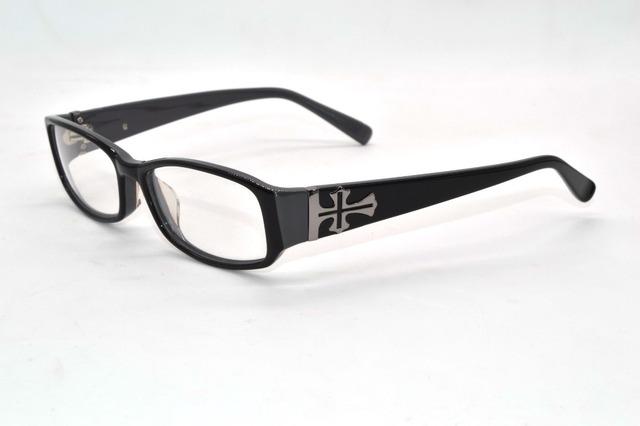 Os cruzados artesanal óculos de aro de óculos personalizado óculos de miopia Photochrmic - 1 para - 9