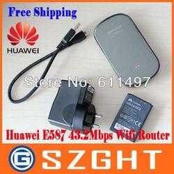 Huawei MiFi E587 Original 3G wireless hotspot Router unlocked 42mbps mobile WIFI sharing