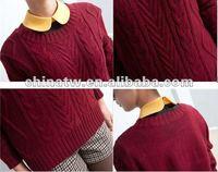 ei2042 старинные новое постулат женщин асимметрия обычная пуловер свитер