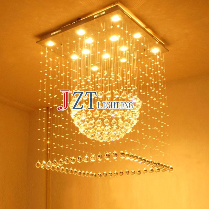 M Square Villa Hotel Project Light Double Entry Stair Lght Long Crystal Droplight Creative Personality Messenger Wire Lamp насос универсальный x alpin sks 10035 пластик серебристый 0 10035