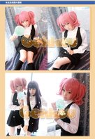 новый стиль roromiya карута короткие розовый полный ну watering Moon косплей парк g02