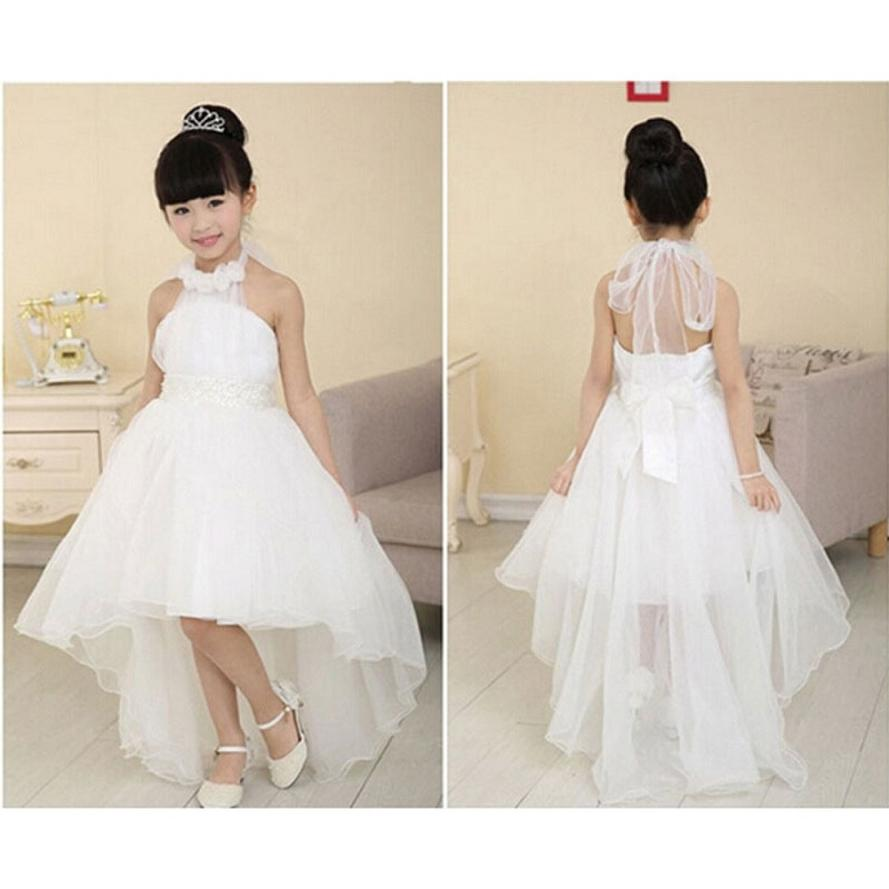 2 7 years fashion baby girls party wedding dress flower for Dresses for girls wedding