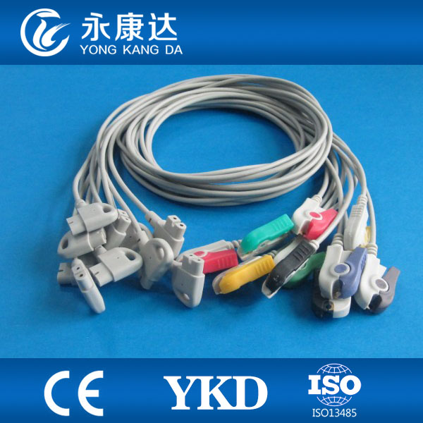Compatible for HP Trim series 10 lead wires IEC Grabber end