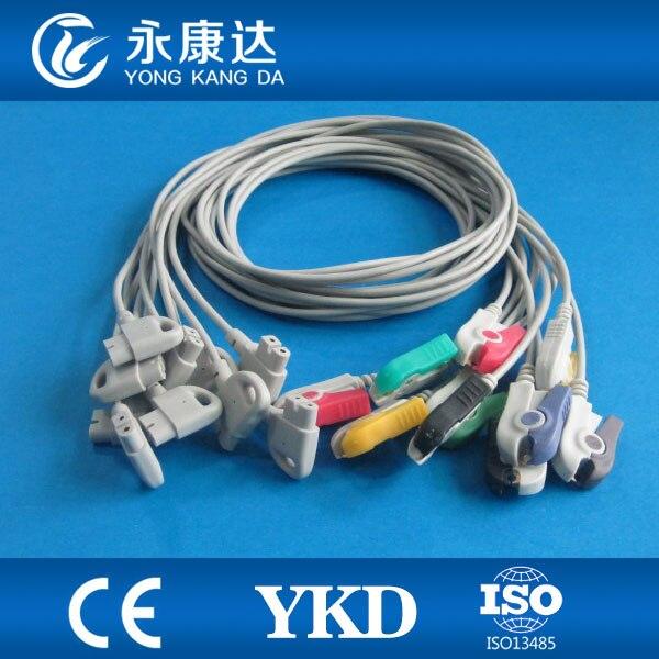 Compatible pour les fils de plomb de la série 10 de garniture HP, IEC, extrémité de Grabber