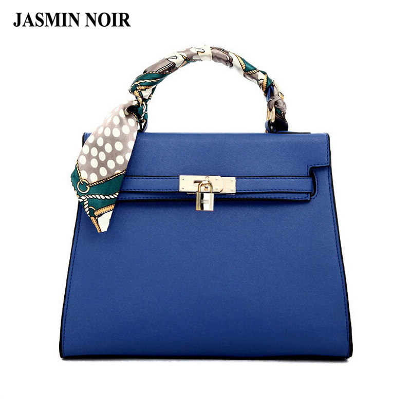 Women Messenger Bags Ladies Tote Small shoulder bag woman brand leather handbag crossbody bag with scarf lock designer bolsas