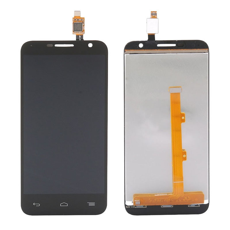 Black White LCD Display Touch Screen Digitizer Assembly Replacement For Alcatel One Touch Idol 2 Mini