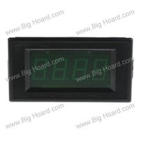 постоянного тока 7 - 15 в цифровой зеленый вольт вольтметр приборной панели # 001480 - 167