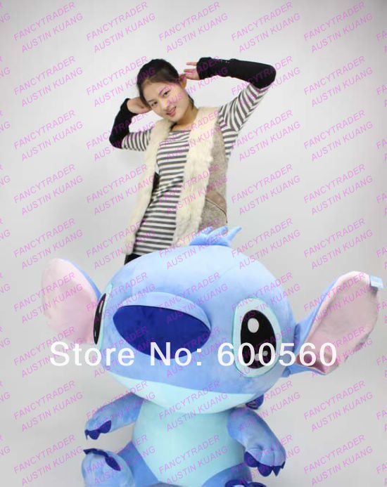 New Arrival Huge Cute Giant Plush Stuffed Stitch Birthday Gift! Accept Dropshipping FT90087 (3).jpg