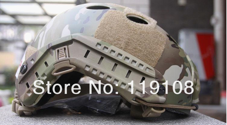 Пейнтбол страйкбол маски база быстро прыгать шлем из углеродного волокна оболочки(Мультикам