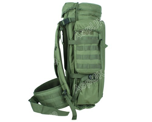 Nueva Airsoft Tactical Molle Extended completa Gear Dual Rifle ...