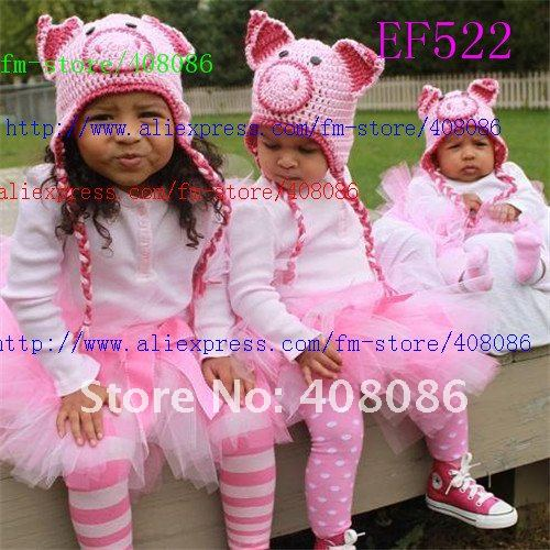 Dorable Crochet Pig Hat Pattern Free Pictures - Knitting Pattern ...