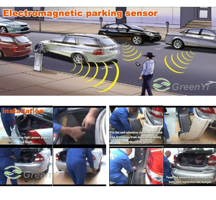 HOT SALE] GreenYi 10pcs Auto Electromagnetic Parking Sensor