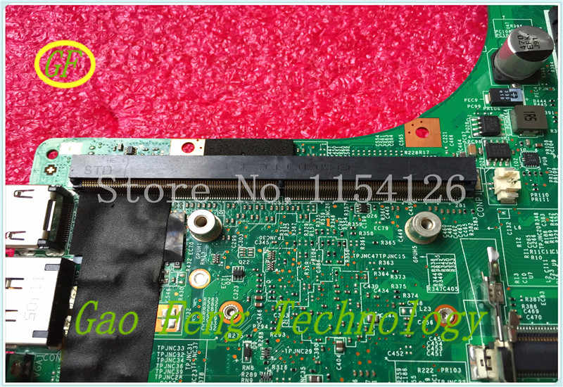 Latop Motherboard MS-16F21 FOR MSI GT683DXR MS-16F2 VER:1 2 Mainboard  NON-INTEGRATED GRAPHICS 100% Work OK