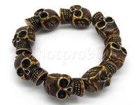 цена от производителя мужская мода оптовая продажа 5 шт. як bonecbead новый готический браслет ювелирных изделий