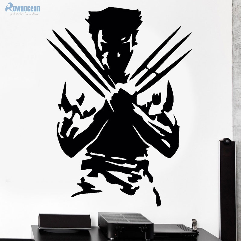 Buy rownoceam movie characters wolverine for X men room decorations