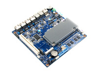 4 network NIC router motherboard D2550 server mini itx mainboard 4 port lan mother boards for Network Security