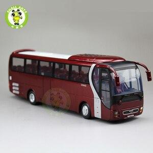 Image 2 - 1/42 Bilancia Bus Modello di UOMO del Leone star Yutong ZK6120R41 Diecast Bus Modello di Auto Giocattoli Regali