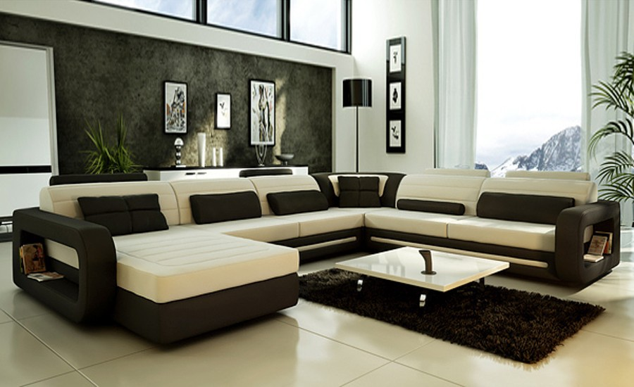 Enjoyable Us 2199 0 Sofa Modern Design Hot Sale Top Grain Leather Sofas Corner Couches With Comfortable Chaise Longue Best Leather Sofa Furniture In Living Bralicious Painted Fabric Chair Ideas Braliciousco