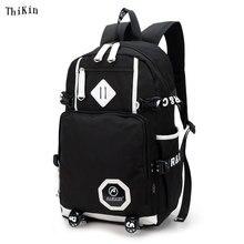 ThiKin Korean font b School b font Backpack for Girls Men Vintage font b School b