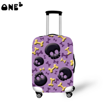 2016ONE2 Design fashion travel luggage cover travel bag cover nice pattern for suitcase boys good quality china luggage factory