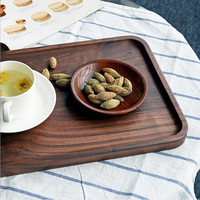 Hand Made Of Japanese Style Wooden Tray Wooden Dish Crude Wood Tray
