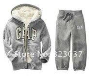 дети вкусный костюм для спорта куртка + брюки комплект тёплый зима shippingbb-0013