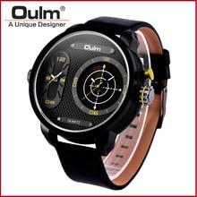 Dual time спортивные часы для мужчин двойное движение цифровые спортивные часы с кварц PC21 movt HP3221B