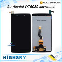 For Alcatel One Touch Idol 3 6039 OT6039 LCD Display with Touch Screen Digitizer Assembly 1 Piece Free Shipping + tools