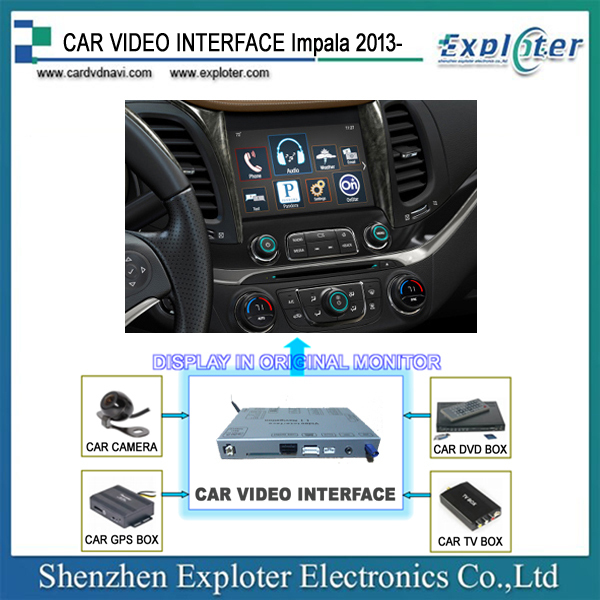 ChevROLt IMPALA 2015 Video Interface built-in Android 4.4 navi module