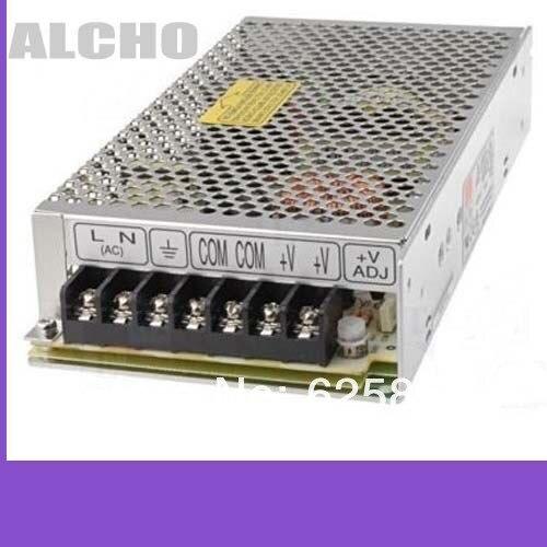 MEAN WELL AC/DC источник питания S-150-15 Переключение с одним выходом 15 вольт 10 А 150 Вт