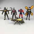 5pcs/set Ant-Man PVC Action Figure Toys, 8-12cm Ant Man Figure Model, Collectible Toys, Anime Brinquedos