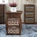 Arca de la cabeza de una cama de la caña constituye para recibir madera maciza muebles americanos reciben la arca combinación