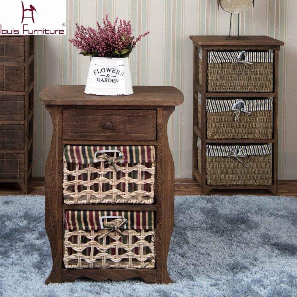 Online kopen Wholesale hout nachtkastjes uit China hout ...