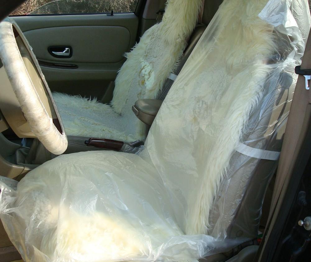 รถจัดแต่งทรงผมอุปกรณ์รถยนต์10ชิ้นพลาสติกทิ้งที่นั่งครอบคลุมและ10ชิ้นพวงมาลัยฝาครอบและ10ชิ... 2