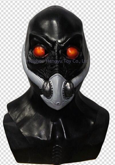 Реалистичная костюм Хэллоуин играть воскресение путешественника во времени маска