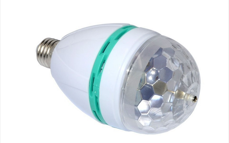 Rgb Led Lamp : B rgb led lamp magic colors changing night light bulb ir