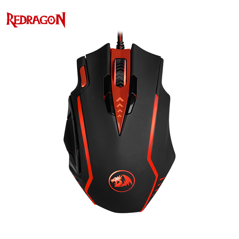 Gaming mouse Redragon Samsara Officeacc redragon samsara black red usb