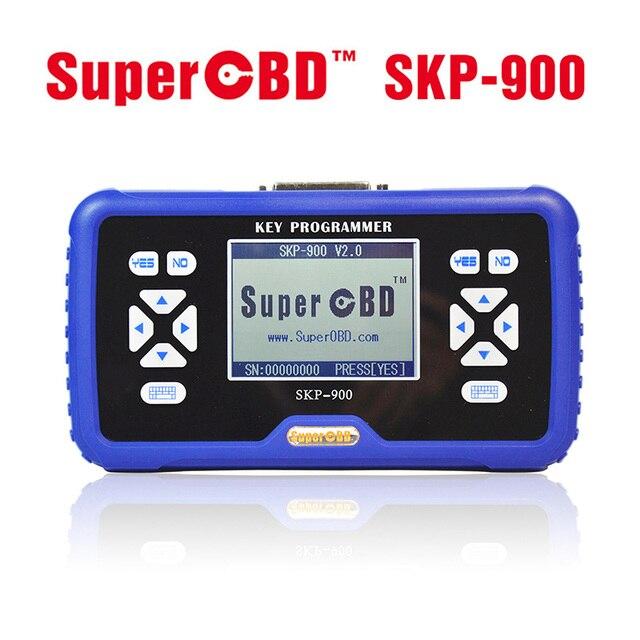 V5.0 fabricante Original SuperOBD SKP900 SKP 900 OBD auto clave programador Soporte de por Vida Actualización Gratuita En Línea Casi Todos coches