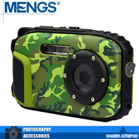 MENGS 16MP 2 7 Screen Water Resistant Digital Video Camera DV Camcorder Underwater 10M For Diving
