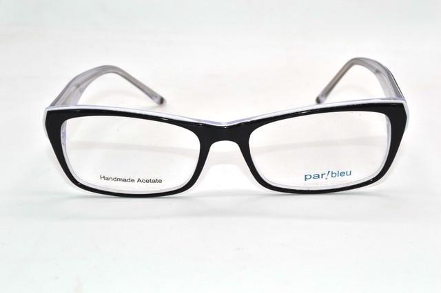 Ручной ацетат Оптических Оправ женщин мода На Заказ Рецепту близорукость очки Фотохромные-1 до-8