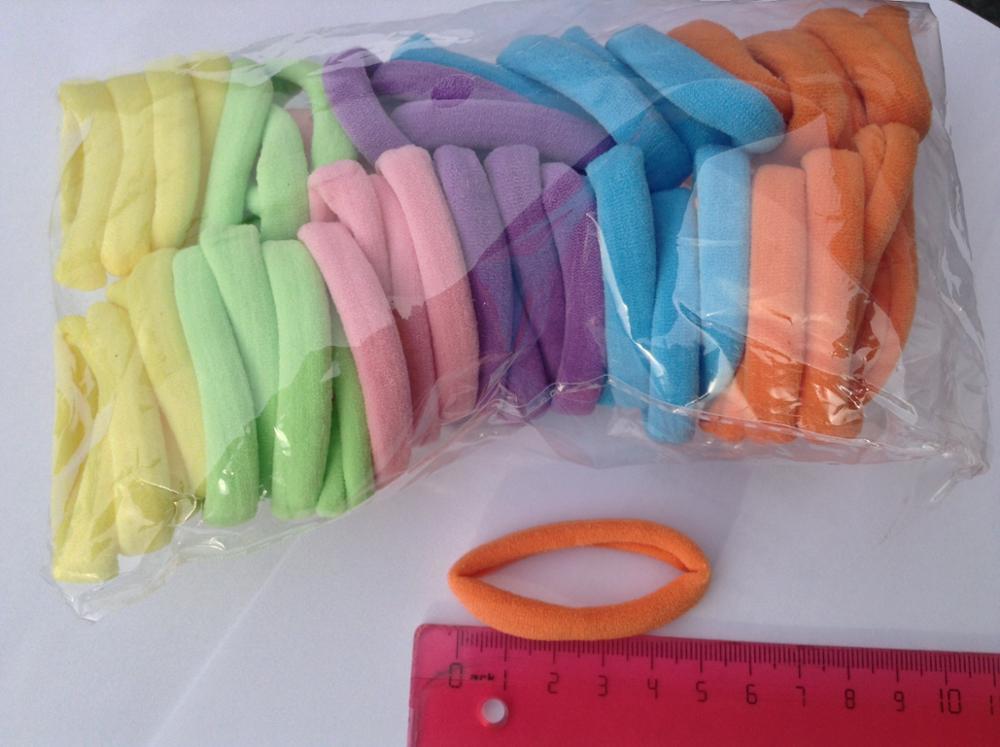 50 BLESSING Girl Fashion Rabbit Ear Hair Elastic Baby High Grade Elasticity