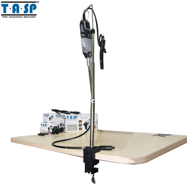 TASP Flexible Shaft And Holder Hanger with Stand Clamp Mini Drill Rotary Tool Accessories