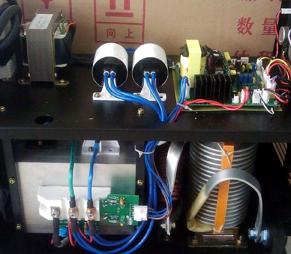 ZX7-400(380 В) печатная плата с IGBT полумостом и полным мостом гибридным вертикальным управлением для инверторного сварщика mma в стиле riland