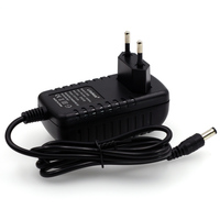 Liitokala 12 v 2a adaptador de alimentação monitor porta dc 5.5*2.1mm plugue europeu eua para liitokala Lii 500 carregador|liitokala 12v|plug european|liitokala adapter -