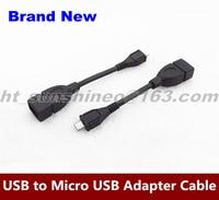 High Quality 100PCS LOT Mini Micro USB To USB Female OTG Cable For Samsung Galaxy S2