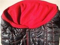 собака снег пальто черный одежда для животных с капюшоном свитера на зиму