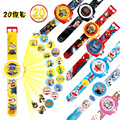 New Reflection Children Watch 2017 Hot Cartoon Minions Princess Elsa toys LED Digital Wristwatch for Boys Girls Kids Clock gift